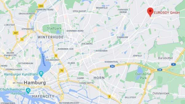 Eurosoy auf Google Maps